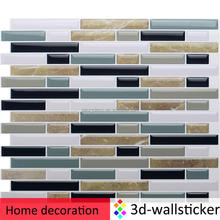 Home decor accessories instant stick on marble wall tile
