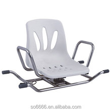 New Product Stainless Rotating Bath Chair Rotatable Swivel Shower Chair For Disable