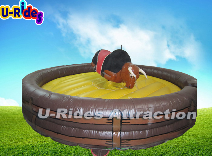 4 In 1 Inflatable Simulator Mechanical Rodeo Bull Price For Sale
