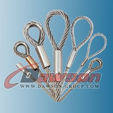 Hot sale :Wire Rope Lifting Sling for crane with galvanized steel