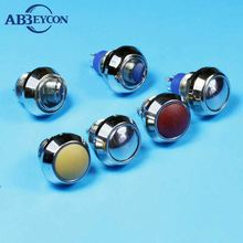 Rotary polishing, 1NO,Domed head ,2pin terminal ,momentary,micro metal push button switch (19mm) manufacturing