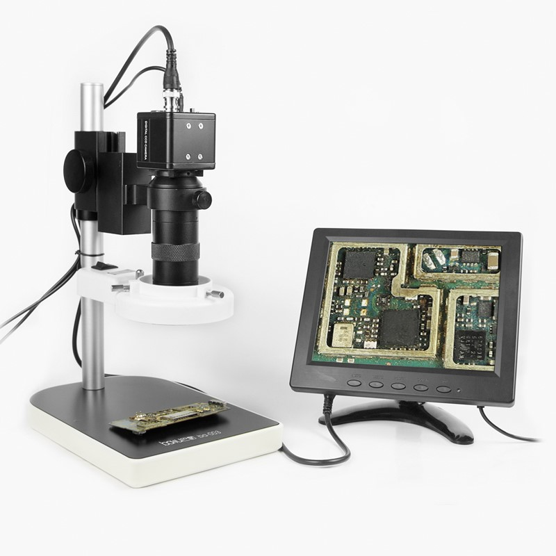 BAKU ba-003 Microscope with LCD Screen Television microscope for jewelry