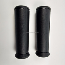 Injection Molded Flanged Tapered Plastic Bicycle Handle Foam Grips