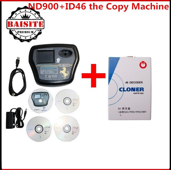 Factory price auto car key programming tools for all kinds transponder chip ND900 auto key programmer+ID46 the Copy Machine