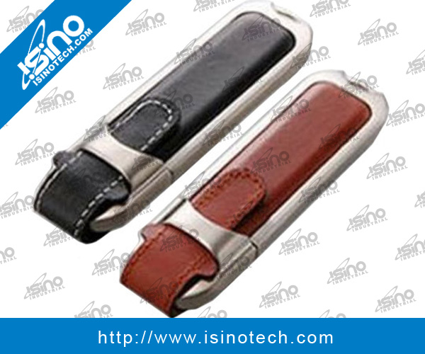 4GB Genuine Leather USB Flash Drive