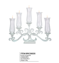 Romantic style crystal candelabra centerpiece for wedding table centerpieces
