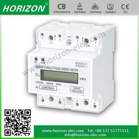 DDS238-4 electric meter general electric RS485/MODBUS-RTU energy meter single phase 100A Max.