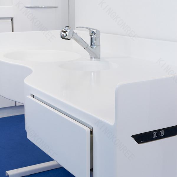 acrylic bathroom double sink countertop one piece bathroom sink and