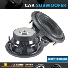 15 inch entry line car subwoofer with 300W rms good quality speaker from JLD Audio