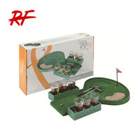 Party drinking set/golf shot glass drinking game set