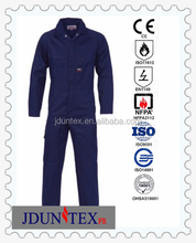Fire Retardant Men 100% Cotton Flame Resistant gas station uniform Coverall Coverall