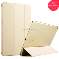 folding stand flexible viewing angles case for ipad pro 9.7 leather case
