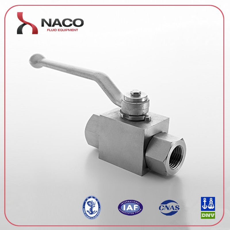 ISO9001 hydraulic stainless steel 1/4 ball valve