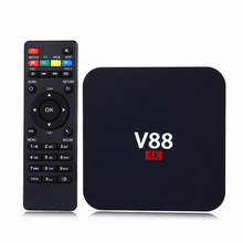 Promotion Free xxx Movie Download User manual Android 6.0 Smart Rk3229 1G 8G Wifi 4K Cheapest V88 Android TV Box For MXQ TV Box
