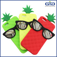 [GGIT] Pineapple and Glasses Designed Silicone Case for Iphone 6G