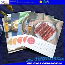 Professional custom table calendar/desk calendar/ wall calendars printing