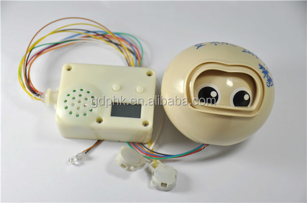 Eye Movement motion sensor sound module custom music box with Alarm Clock function for plush toys