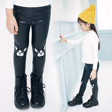 Animal Dog Scalp Pants New Pattern Pants Young Girls Sexy Jeans