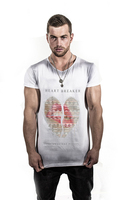 Heart Breaker %100 Cotton Fashionable men T-shirt