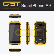 "IP68 QUAD CORE 4.3""ANDROID SMART MOBILE PHONE ,GPS,AGPS , PTTand NFC optional S09 rugged waterproof mobile phone"