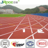 Full pour EPDM granule athletics track surfacing synthetic tartan track rubber running track