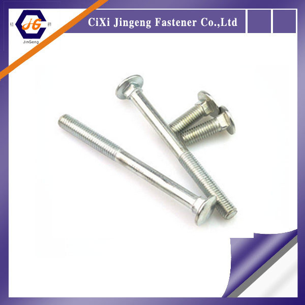 Din603 Cup head Mushroom head square neck bolts M6 M8 M10 M12 wholesale