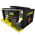 Detian Offer 20x20ft Trade Show Display Event Exhibition Stand