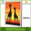 Aluminum exhibition Wholesale textile led light frame