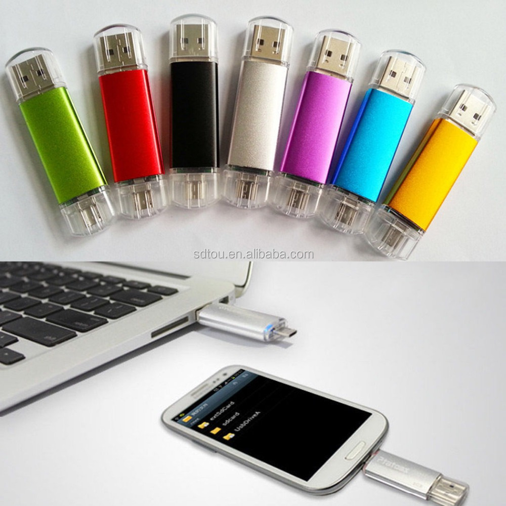 how to use otg flash drive