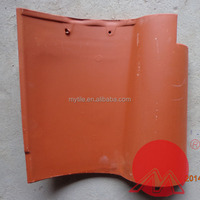 spanish red clay roof tiles