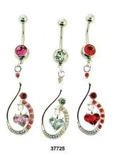 belly ring body jewelry navel ring -003