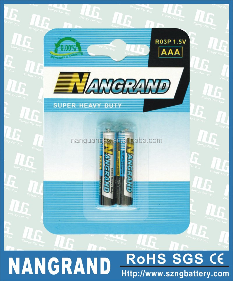 r03p zinc carbon dry cell battery aa