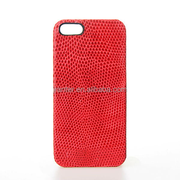 Custom 100% Genuine Lizard Case for iPhone 5 5S 6 6 Plus