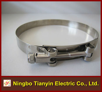 T Type Without Spring Stainless Steel Hose Clamp