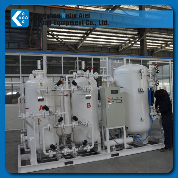 93% purity medical oxygen plant with compressed air purification system