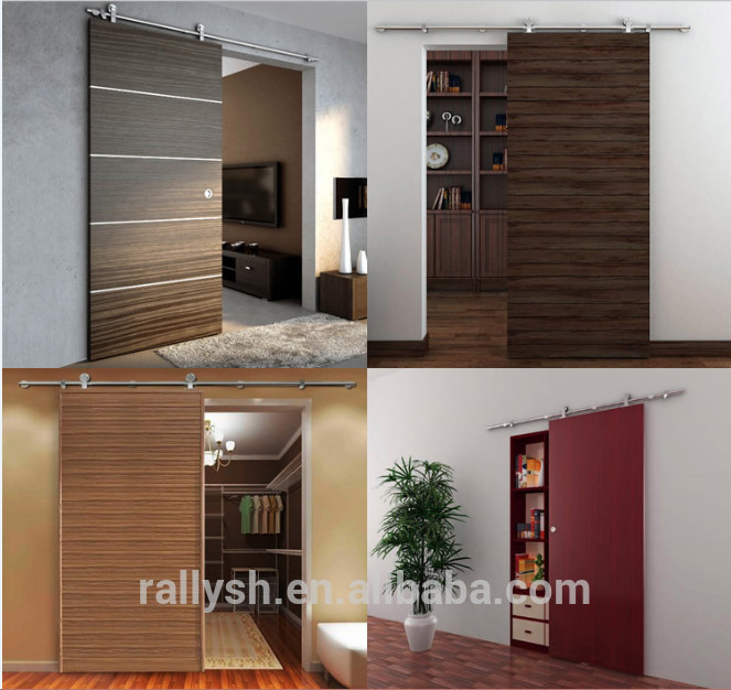 Rally Stainless Steel Door Hardware, Sliding Barn Doors Rollers And Track  For Sale