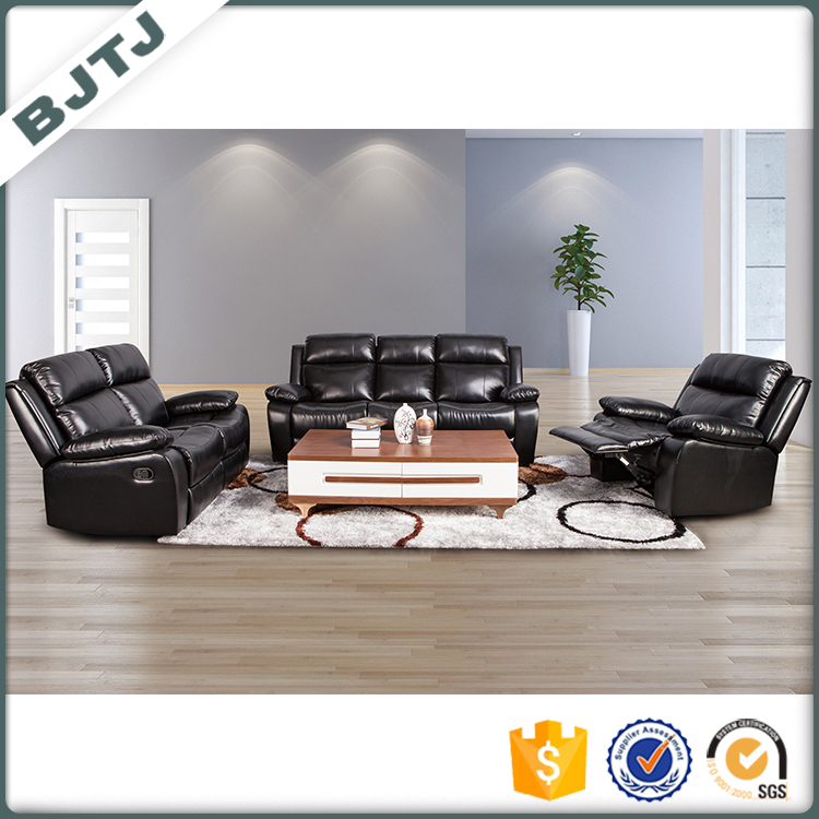 BJTJ Elegant and antique black recliner sectional nice style body massage sofa 70317A
