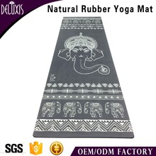 eco-friendly cheap 1.5mm thin travel yoga mat natural rubber/tpe mat