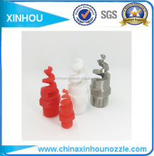 Cooling spiral cleaning cooling water system tank nozzle