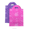 PE plastic shopping bags with colour printing