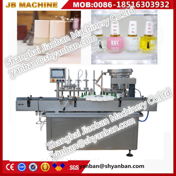 JB-Y2 Shanghai manufactures cosmetic nail polish bottle filling and capping machine
