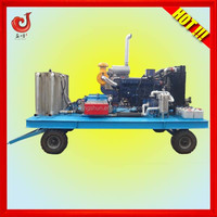 2014 new 40-93L/min, 500-1500bar, diesel engine industrial washing machine wool cleaning machine