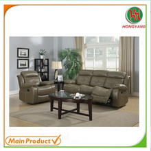 Luxury sofa set air leather sofa reclining sofa furniture HYS-8210