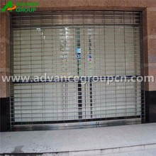 Automatic Stainless Steel Perforated Rolling Shutter Door
