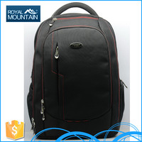 New design 2016 canvas backpack rucksack school hiking with low price