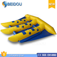 Hot Sale Cheap Durable Towable Inflatable Flying Banana Boat/ Inflatable Flying Banana for Sale