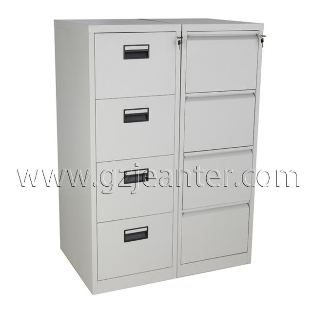 Vertical Steel Black 2 Drawer File Cabinet,2 Drawer Filing Cabinets,2  Drawers Bedside
