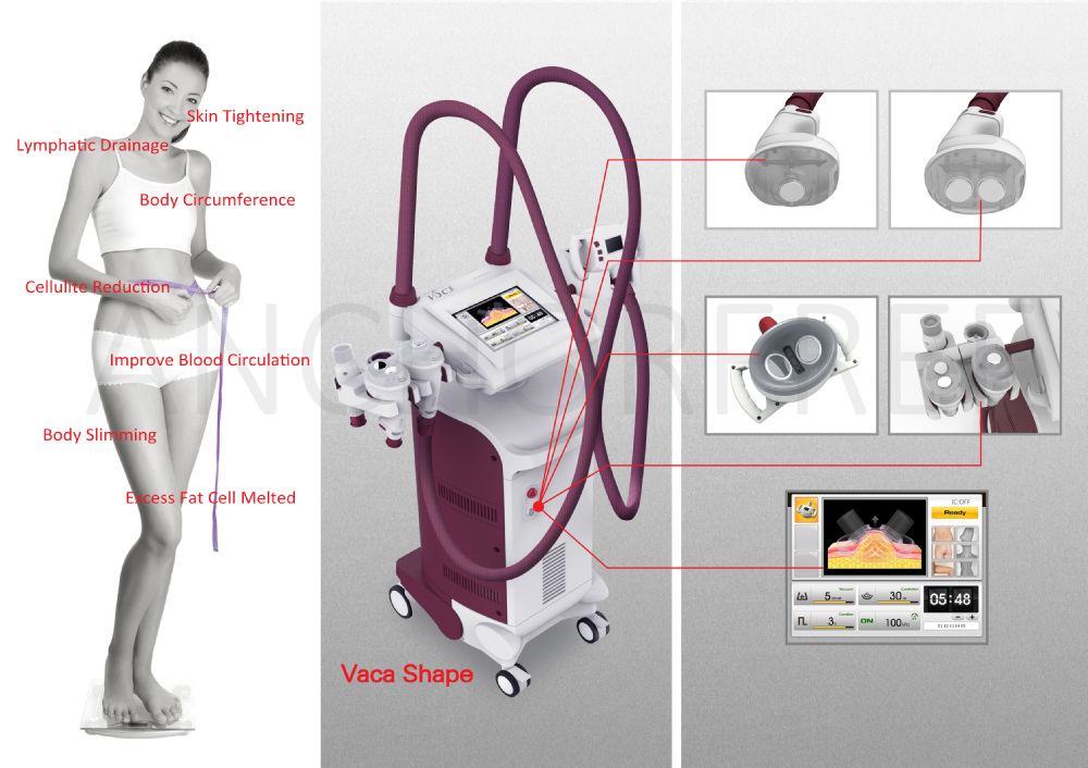 Body Shaping Ultrasound Therapies Cavitation Slimming Machine CE