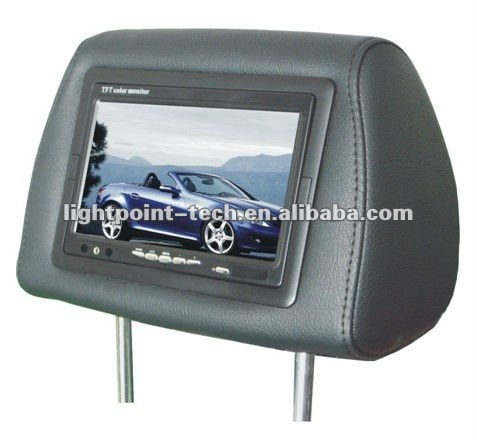 2012 new style 7 inch headrest monitor