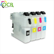 OCBESTJET refill ink cartridge for brother LC663 665 LC223 LC233 LC205 LC207 LC209 LC235 LC237 LC123 lc133